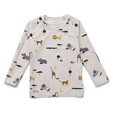 Achat Accessoires bébé Tee-Shirt Noah Safari Sandy Mix - 3/9 Mois