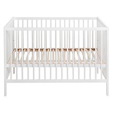 Achat Lit bébé Lit Bébé Lina Blanc - 60 x120 cm