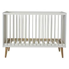 Achat Lit bébé Lit Bébé Cocoon Ice White - 60 x 120 cm