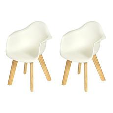 Achat Table & Chaise Lot de 2 Kids Chair - White