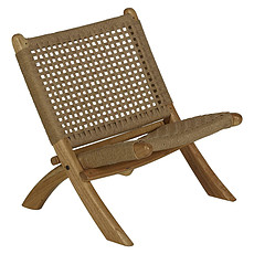 Achat Fauteuil Folding Kids Chair Loom Rope - Naturel