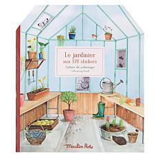 Achat Livre & Carte Cahier de Coloriage et Stickers Le Jardin du Moulin - Le Jardinier