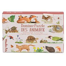 Achat Mes premiers jouets Domino Puzzle des Animaux - Le Jardin du Moulin