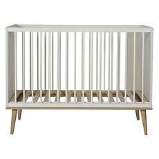 Achat Lit bébé Lit Bébé Flow White & Oak - 60 x120 cm