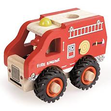 Achat Mes premiers jouets Camion de Pompier en Bois