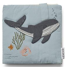 Achat Livre & Carte Livre en Tissu Sammy - Sea Creature Mix