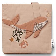 Achat Livre & Carte Livre en Tissu Sammy - Sea Creature Rose Mix