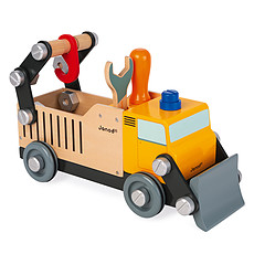Achat Mes premiers jouets Camion de Chantier Brico'Kids