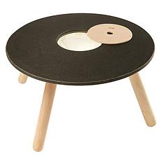 Achat Table & Chaise Table de Jeux et Rangement - Naturel et Noir