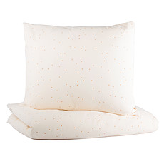 Achat Linge de lit Parure de Lit Himalaya Honey Sweet Dots & Natural - 150 x 200 cm