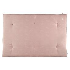 Achat Matelas bébé Futon Eden White Bubble & Misty Pink - 100 x 148 cm