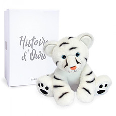 Achat Peluche Bébé Tigre Blanc - Terre sauvage