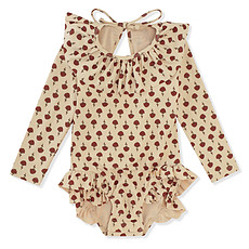 Achat Accessoires bébé Maillot de Bain à Manches Longues Manuca - Poppyflower Red
