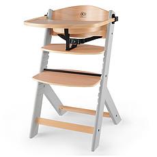 Achat Chaise haute Chaise Haute ENOCK - Naturel et Gris