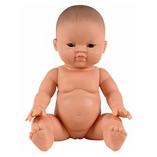 Achat Mes premiers jouets Poupon Petite Fille aux Yeux Foncés