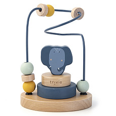 Achat Mes premiers jouets Labyrinthe à Perles en Bois - Mrs. Elephant