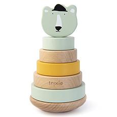 Achat Mes premiers jouets Tour à Empiler en Bois - Mr. Polar Bear