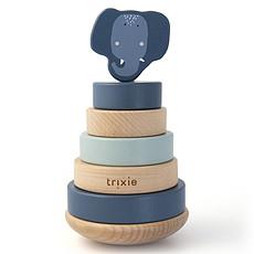 Achat Mes premiers jouets Tour à Empiler en Bois - Mrs. Elephant