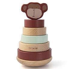 Achat Mes premiers jouets Tour à Empiler en Bois - Mr. Monkey