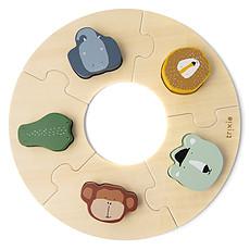Achat Mes premiers jouets Puzzle Rond en Bois