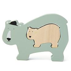 Achat Mes premiers jouets Puzzle Bébé en Bois - Mr. Polar Bear