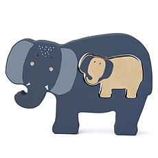 Achat Mes premiers jouets Puzzle Bébé en Bois - Mrs. Elephant