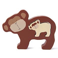Achat Mes premiers jouets Puzzle Bébé en Bois - Mr. Monkey