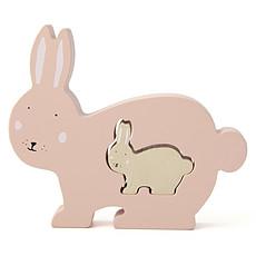 Achat Mes premiers jouets Puzzle Bébé en Bois - Mrs. Rabbit