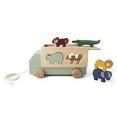 Achat Mes premiers jouets Camion en Bois Animaux