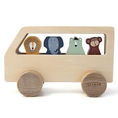 Achat Mes premiers jouets Bus en Bois Animaux