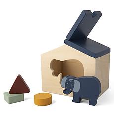 Achat Mes premiers jouets Maison en Bois - Mrs. Elephant