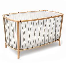 Achat Lit bébé Lit Bébé Evolutif Kimi Hazelnut - 60 x 120 cm