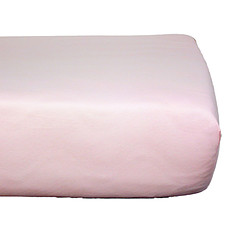 Achat Linge de lit Drap Housse en Coton Bio Rose Pale - 70 x 140 cm