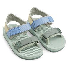 Achat Chaussons & Chaussures Sandales Monty Dusty Mint Multi Mix - 21