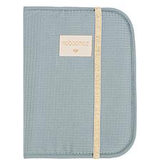 Achat Protège-carnet santé Protège Carnet de Santé Poema Honey Comb - Stone Blue