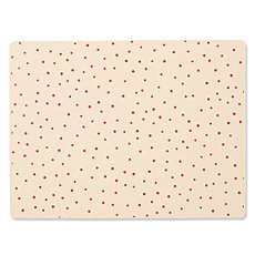 Achat Vaisselle & Couvert Set de Table Silicone - Raspberry Red Dot