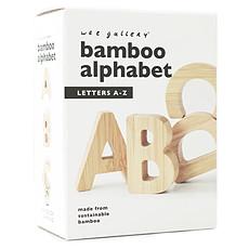Achat Mes premiers jouets Alphabet en Bambou