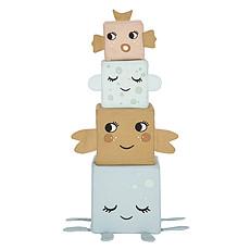 Achat Mes premiers jouets Cubes en Tissu Les Animaux de la Mer