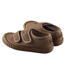 Achat Chaussons & Chaussures Baskets Respirantes à Scratch - Stone