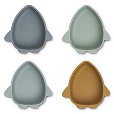 Achat Vaisselle & Couvert Lot de 4 Bols en Silicone Iggy - Space Blue Multi Mix