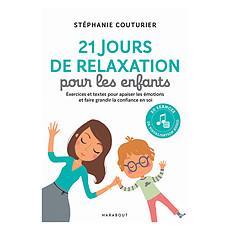 Achat Livre & Carte 21 Jours de Relaxation pour les Enfants