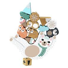 Achat Mes premiers jouets Jeu d'Equilibre Eddy Bear Michelle Carlslund