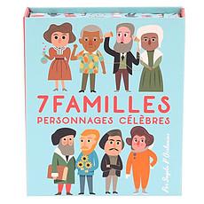 Achat Mes premiers jouets Jeu de 7 Familles Personnages Célèbres Ingela P. Arrhenius