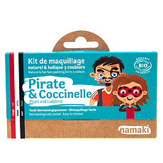 Achat Anniversaire & Fête Kit de Maquillage 3 Couleurs - Pirate et Coccinelle