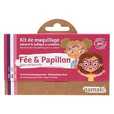 Achat Anniversaire & Fête Kit de Maquillage 3 Couleurs - Fée et Papillon