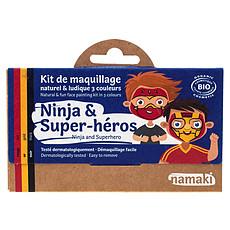 Achat Anniversaire & Fête Kit de Maquillage 3 Couleurs - Ninja et Super-héros