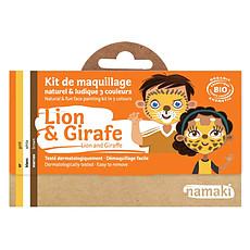 Achat Anniversaire & Fête Kit de Maquillage 3 Couleurs - Lion et Girafe