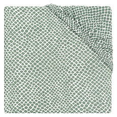 Achat Linge de lit Drap Housse Snake Ash Green - 60 x 120 cm
