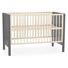 Achat Lit bébé Lit Bébé Evolutif Mia Grey - 60 x 120 cm