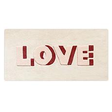 Achat Tapis Tapis Love - 50 x100 cm
